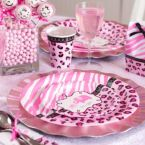 Pink Safari Baby Shower Ideas