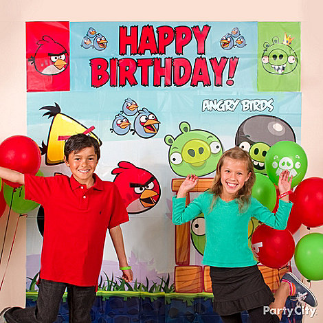 Angry Birds Party Ideas: Games & Activities