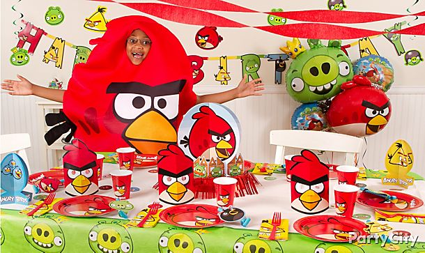 Angry Birds Party Ideas!