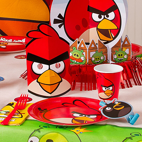 Angry Birds Party Ideas: Decorating