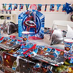 Avengers Party Decorating Ideas