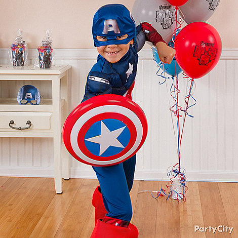Avengers Party Ideas: Dress-Up