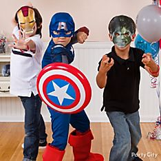 Avengers Party Dress-Up Ideas
