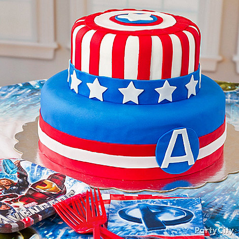 Avengers Party Ideas: Food