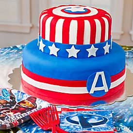 Instructions For Avengers Cakes