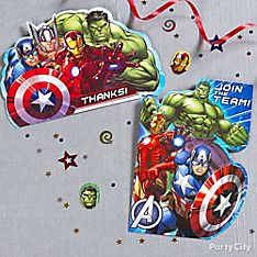 Avengers Party Invitation Ideas