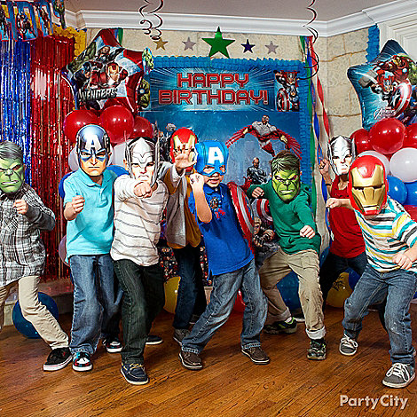 Avengers Party Ideas: Dress Up