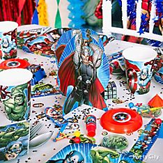 Avengers Party Decoration Ideas