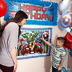 Avengers Party Games & Activity Ideas