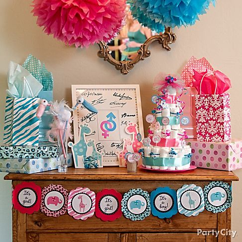 fotos gender reveal party baby shower ideas city picture