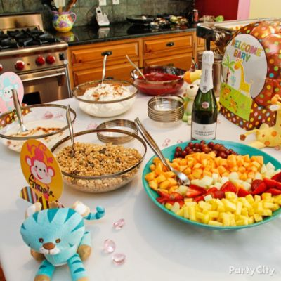 Throw an Adorable Jungle Animals Baby Shower - Party City