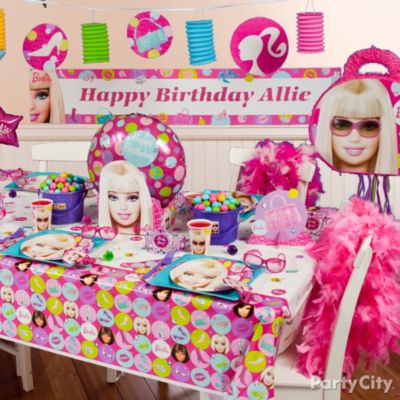 Barbie Birthday Party Ideas Party City