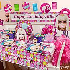 Barbie Party Decoration Ideas
