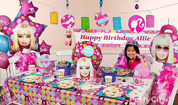 Barbie Party Ideas!