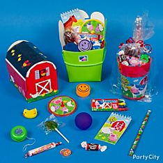 Barnyard Fun Party Favor Ideas