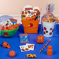 Basketball Party Favor Ideas