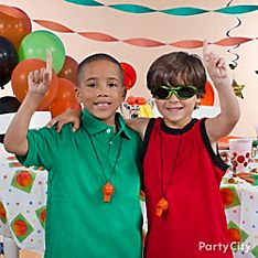 Basketball Party Dress-Up Ideas