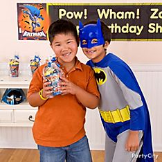 Batman Party Favor Ideas
