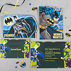 Batman Party Invitation Ideas