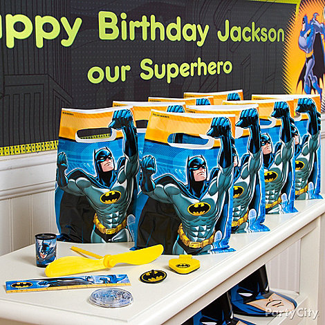 Batman Party Ideas: Favors
