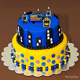 Batman Candy Cake How To Party City