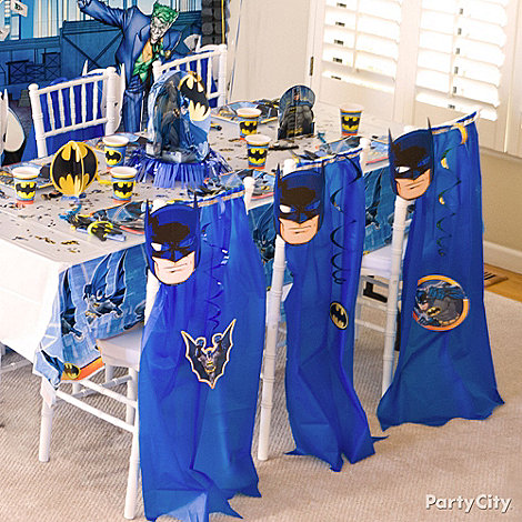 Batman Party Ideas: Decorating
