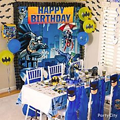 Batman Party Decorating Ideas