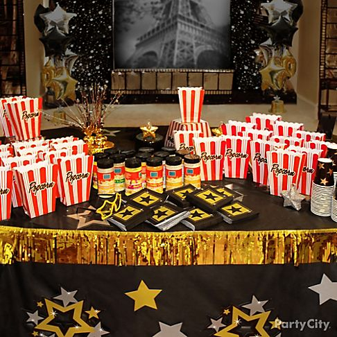 Party besides Oscar Night together with Diy Free Printables moreover 239464905162902145 as well Grammy Worthy Party Ideas. on oscar party decorations themes