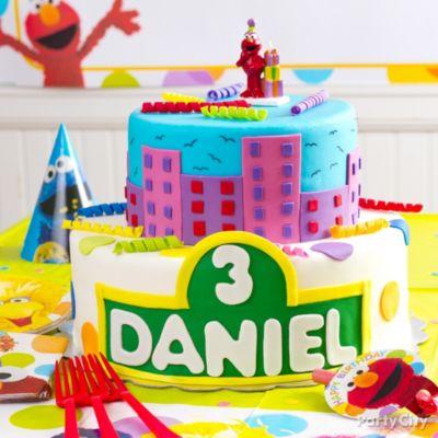 Elmo Fondant Cake Decorating HowTo Party City