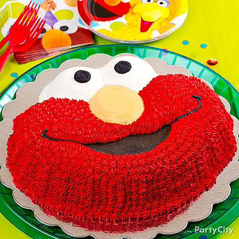 elmo birthday party ideas party city on elmo abby birthday cake