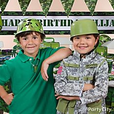 Camo Party Dress-Up Ideas