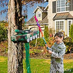 Camo Party Game & Activity Ideas
