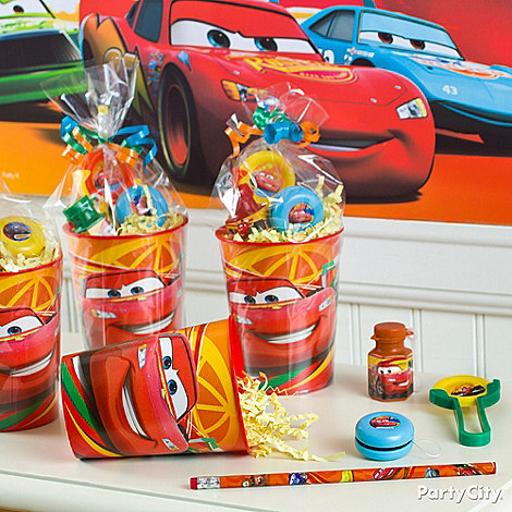 Cars Party Ideas: Favors