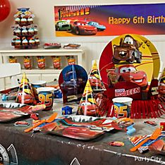 Cars Party Decoration Ideas