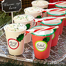 Holly Jolly Hot Chocolate Bar Ideas