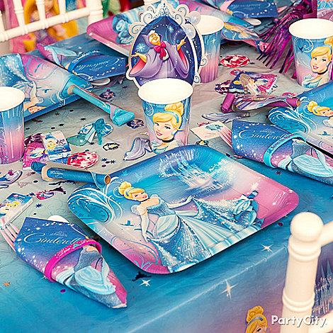 Cinderella Ideas: Decorations