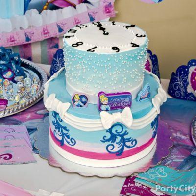 Dreamy Cinderella Cake HowTo Party City