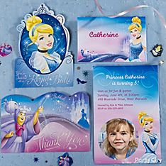 Cinderella Party Invitation Ideas