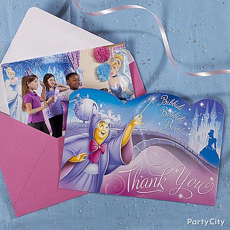 Cinderella Party Ideas: Invitations