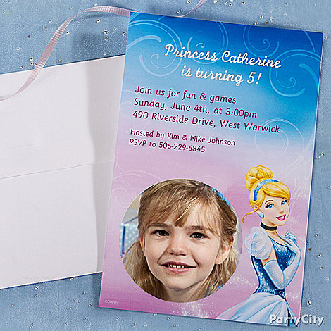 Cinderella Ideas: Invitations