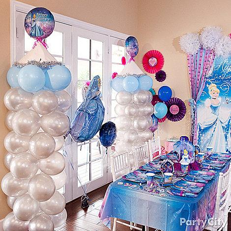 Cinderella Party Ideas: Decorations