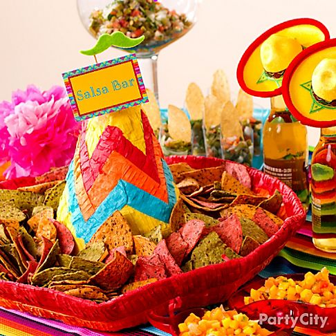 Cinco de mayo food and drink ideas party city for 5 de mayo party decoration