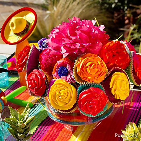 Mexican fiesta party ideas party city for 5 de mayo party decoration