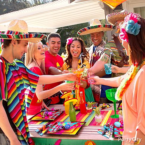 Mexican Fiesta Party Ideas City
