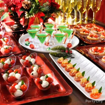Christmas Party Ideas Tablescapes - Party City