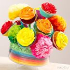 Cupcake Centerpiece How-To