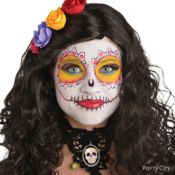Bone-ita Day of the Dead Makeup How-To