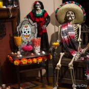 Day of the Dead Party Ideas for a Skeletal Soiree