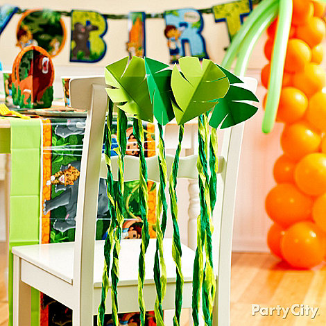 Go, Diego, Go! Party Ideas: Decorating