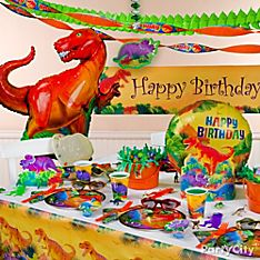 Prehistoric Dinosaurs Party Decoration Ideas